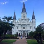 No more than a couple of blocks to Jackson Square