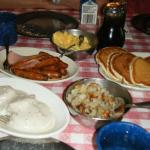 All-You-Can-Eat Family Style Lumberjack Breakfast - YUM!