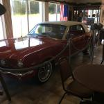 Always has a classic car in the lobby