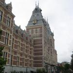 The wonderful Rijksmuseum - about a seven minute walk from hotel