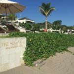 The Beach, looking into the hotel