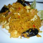 yummy paella made by Piti