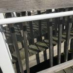 Broken porch and ramp slats