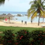 View from beach bungalow