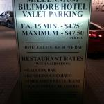 Yes its true $48 a night to park bring a heavy  wallet ..:)