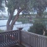 View of the Missouri River from room