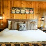 Our king room at Cedar Glen Lodge
