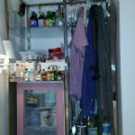 Closet , mini bar and only drawers available in room...