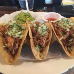 These are the best tacos de carnitas in town.