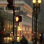 Early morning on Powell Street