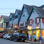 shopping in Bar Harbor is nice, and not too pricey