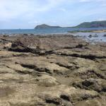 Rocky coast to explore at low tide