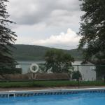 View from the outdoor pool