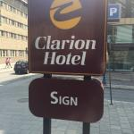Clarion Hotel Sign Foto