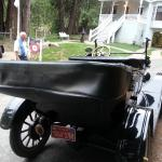Ford Model T and Main House