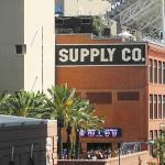 View of the Western Metal Supply Co. and Petco Park
