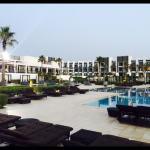Plenty of sun-loungers and souk beds for privacy and a lovely pool