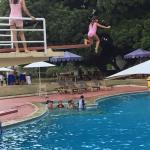 Swimming and Jumping
