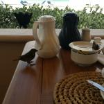 breakfast with the birds, there is also a indoor option if you prefer