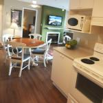 Large 2 bedroom kitchen/living room
