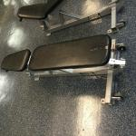 Ripped weight bench
