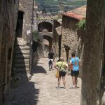 Exploring Lacoste on one of our daily biking loops