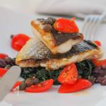 Sea Bream with tomatoes