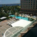 The pool from the 6th floor