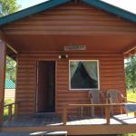 our cabin at Redoubt Lodge