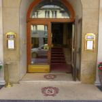 Entrance to the Sacher