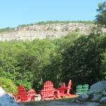 View of 'Gunks from the Lodge
