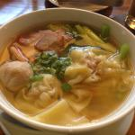 Wonton soup for breakfast at Intercontinental Asiana Saigon