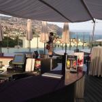 The Roof Terrace and Bar, with an infinity pool and views over Funchal.