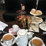 Champagne afternoon tea!