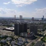 Atlantic City skyline as seen from our 28th floor room, Borgata and others in the background!