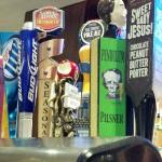 On-tap options at The Yard lobby bar