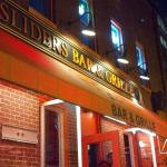 Sliders bar down the block
