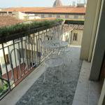 The other balcony next to ours (same side of building with same Duomo view)
