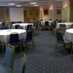 York Suite set up for Funeral Reception