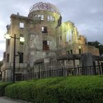 Dusk at the Atomic Bomb Dome