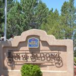Entrance to Best Western Plus Inn of Sedona.
