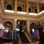 Entry and hotel lobby