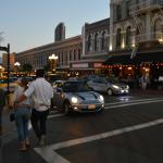 GasLamp area in the evening