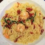 Shrimp & Scallops with Pasta at Coco Key Resort