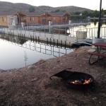 Fire Pit & Cabins