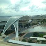 View of San Juan Convention Center seen from Sheraton guest rooms