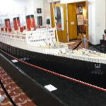 Lego model of the Queen Mary