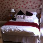 Rooms, lovely decor, comfortable and well stocked, with clean towels if required and tea and  co