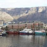 Cape Grace Hotel with Table Mountain in the background