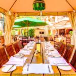 Mediterraneo is a great spot for any occasion, easily accommodating large groups.